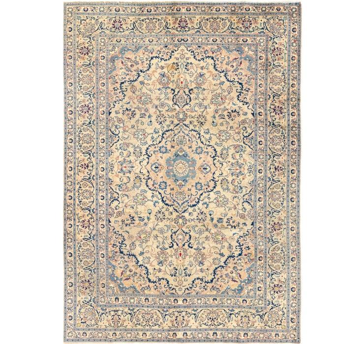 195cm x 282cm Kashan Persian Rug