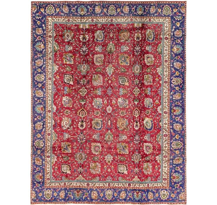 9' 10 x 12' Tabriz Persian Rug