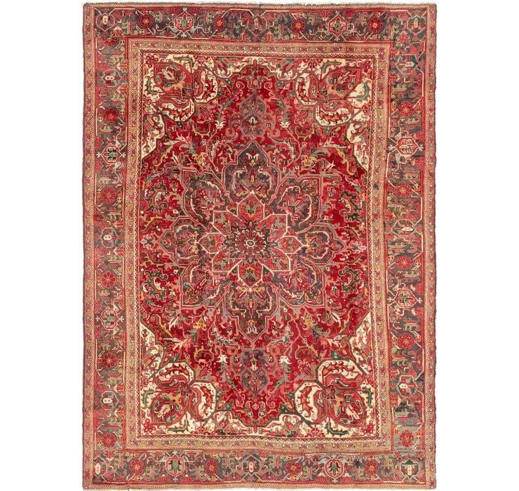 240cm x 335cm Heriz Persian Rug
