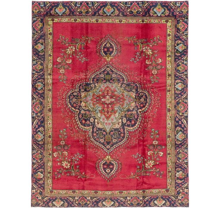 8' 10 x 11' 6 Tabriz Persian Rug