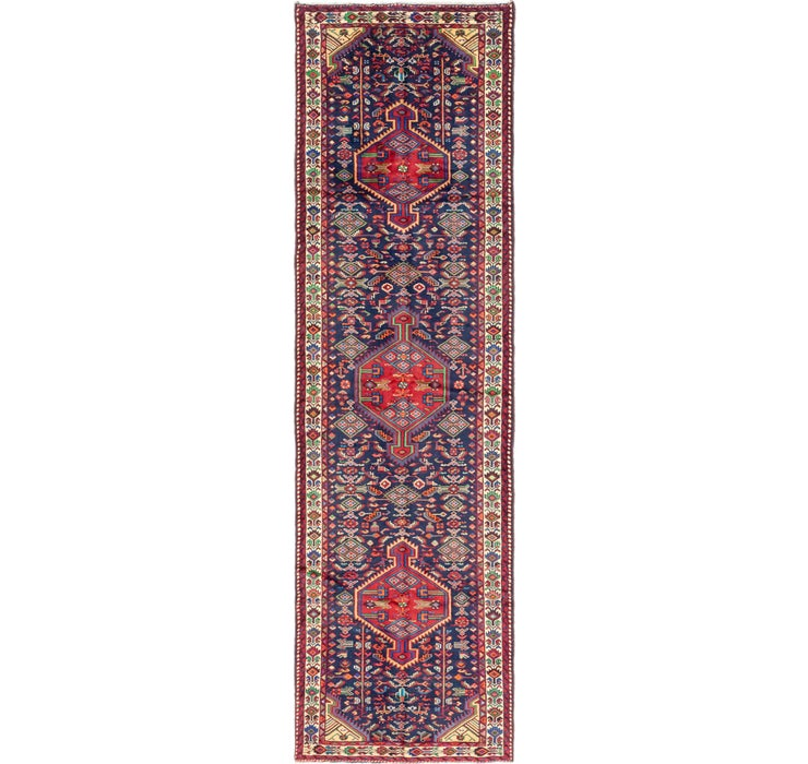 3' 5 x 12' 6 Darjazin Persian Runner...