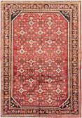 7' 2 x 10' 4 Hossainabad Persian Rug thumbnail