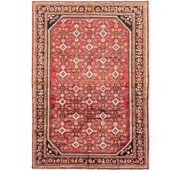 7' 2 x 10' 4 Hossainabad Persian Rug main image