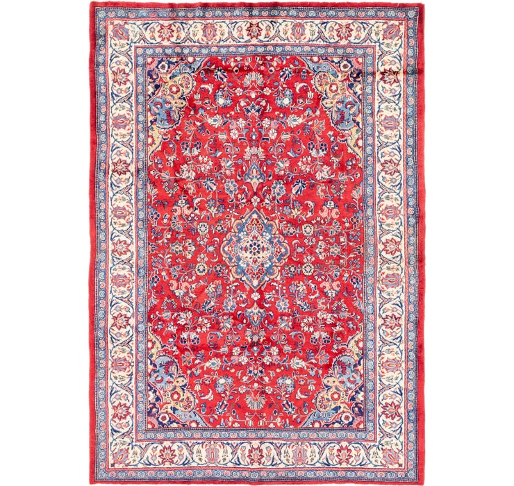 7' 6 x 10' 8 Sarough Persian Rug
