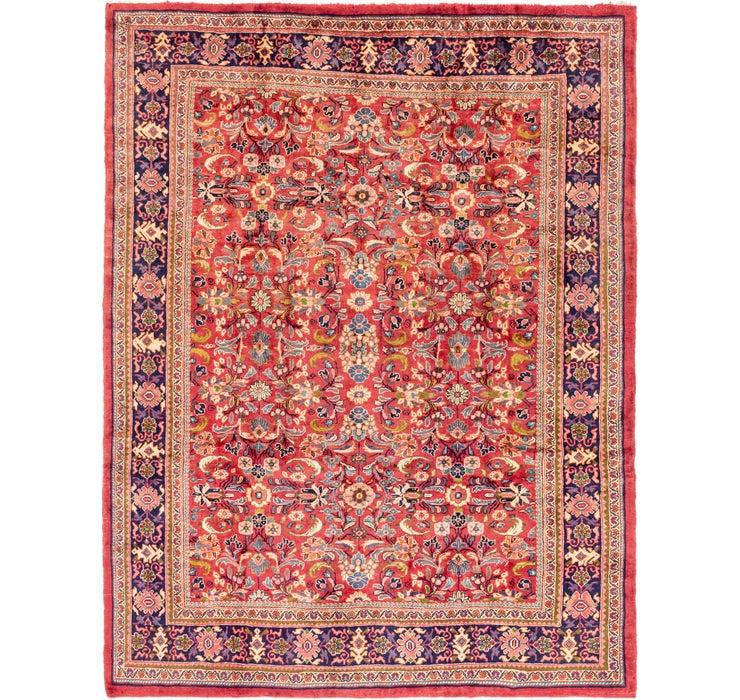 9' 7 x 12' 3 Mahal Persian Rug