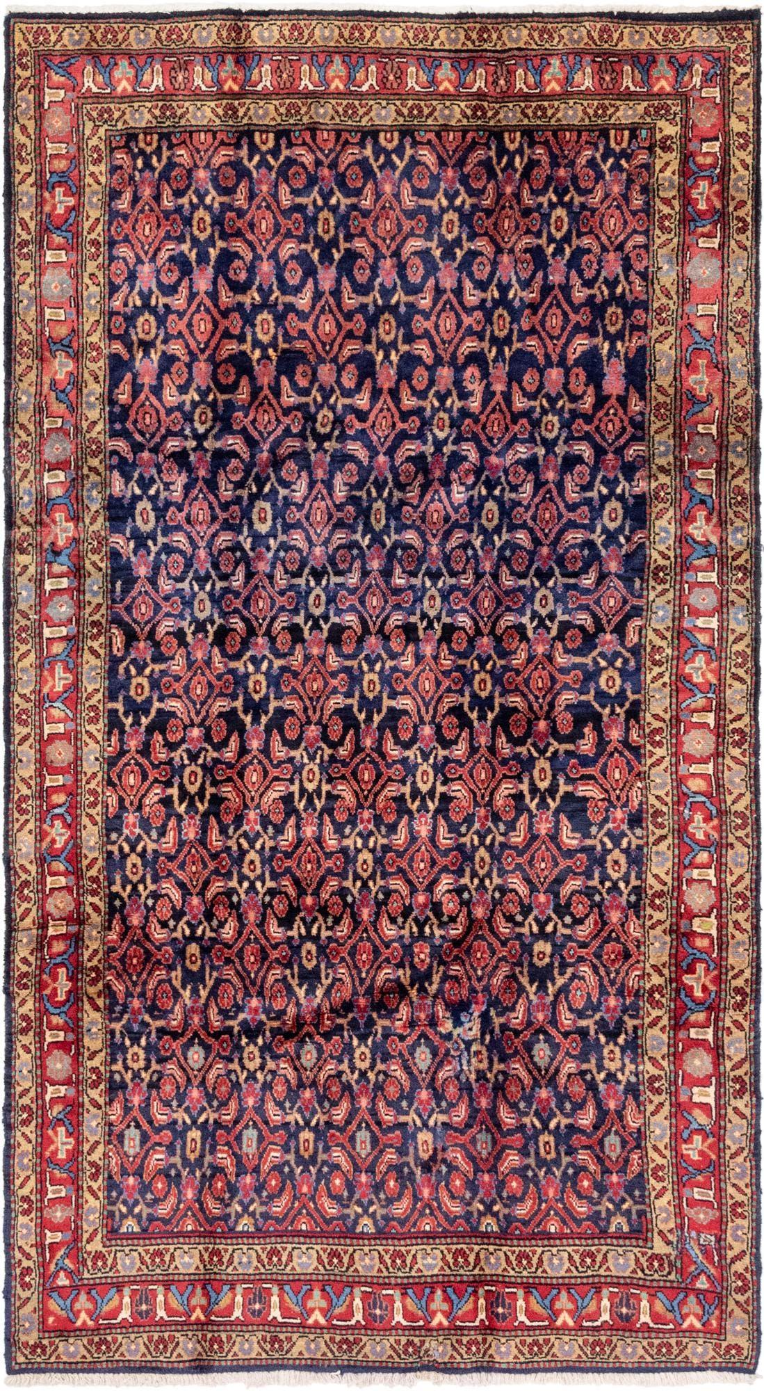 5' 4 x 10' Hossainabad Persian Runner Rug main image