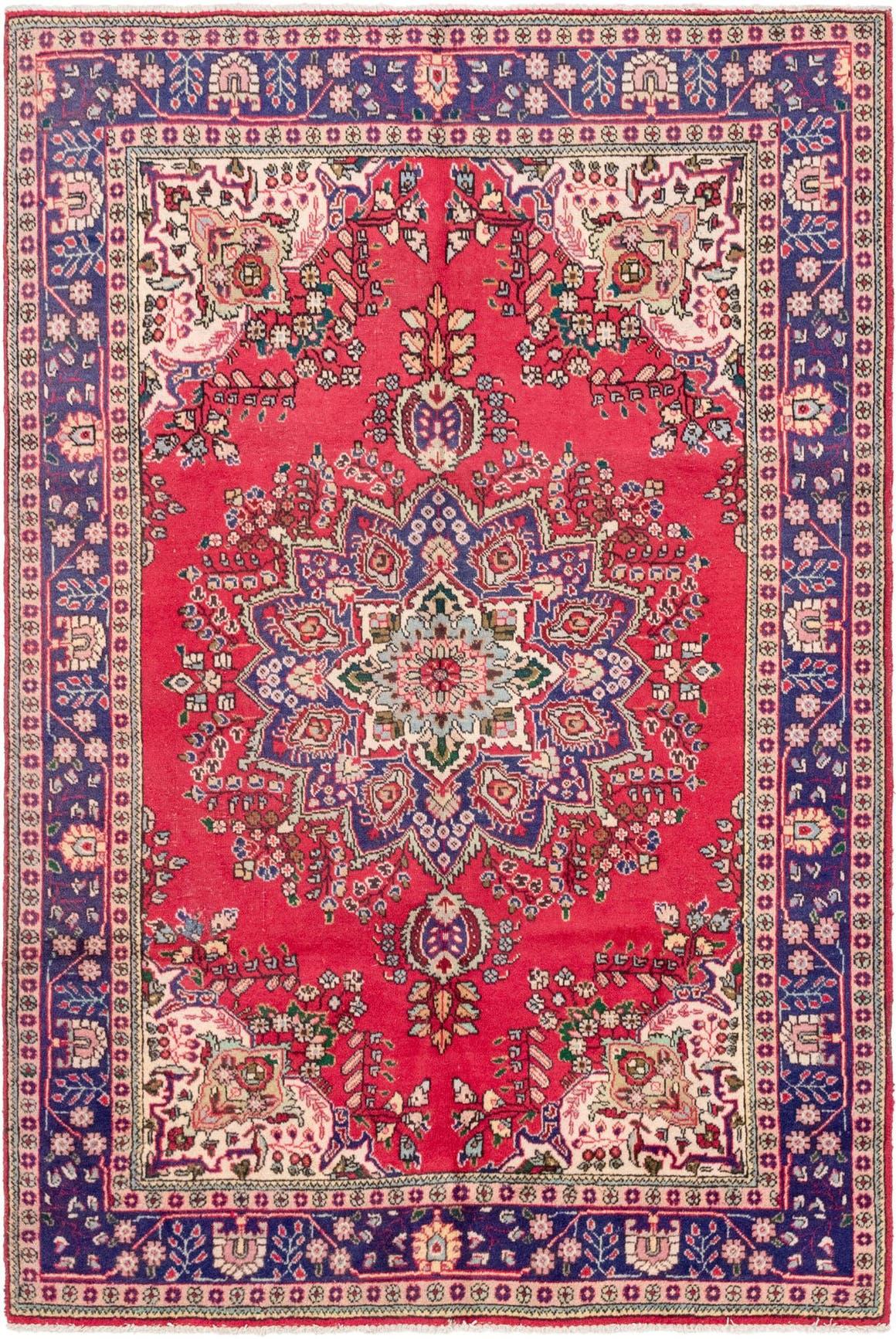 6' 4 x 9' 6 Tabriz Persian Rug main image