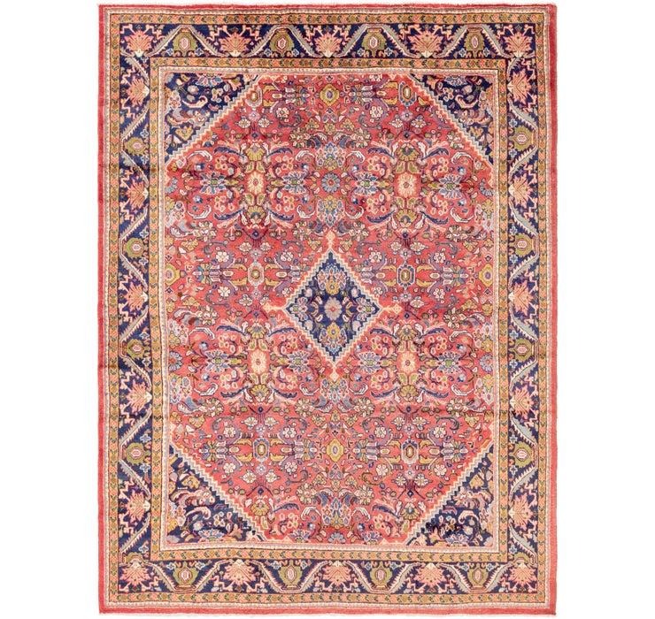 290cm x 427cm Mahal Persian Rug