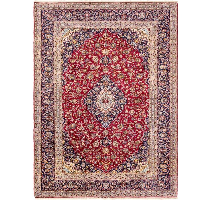 9' 7 x 14' 3 Kashan Persian Rug