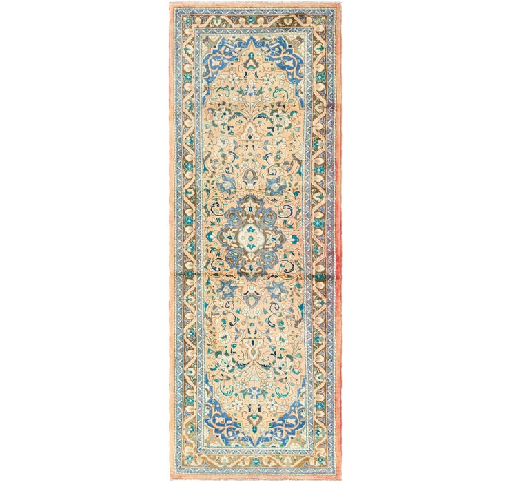 3' 7 x 10' 2 Mahal Persian Runner Rug