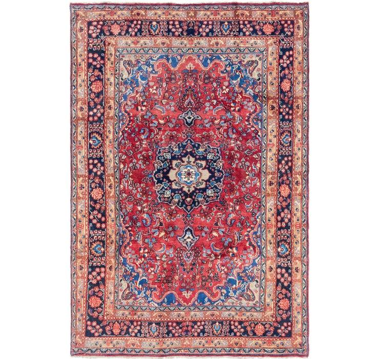 6' 6 x 9' 10 Mashad Persian Rug