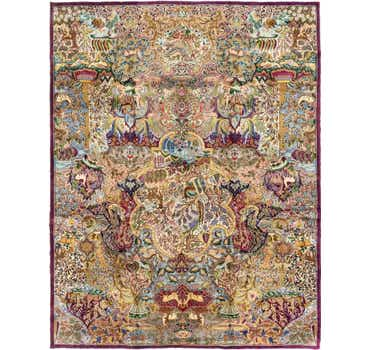Image of 9' 9 x 12' 7 Kashmar Persian Rug