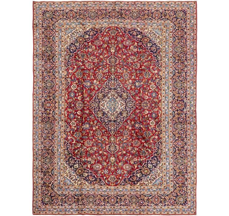 295cm x 385cm Kashan Persian Rug