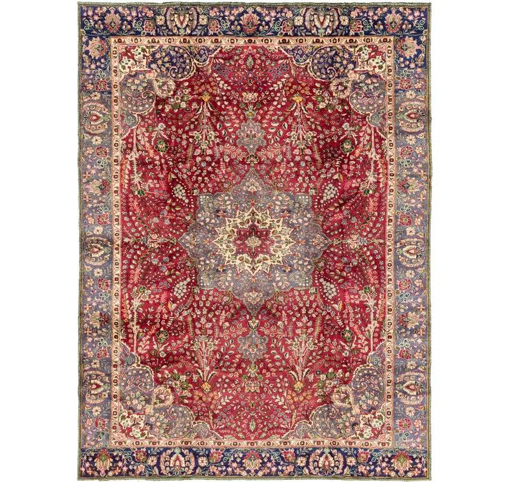 9' 3 x 12' 10 Tabriz Persian Rug