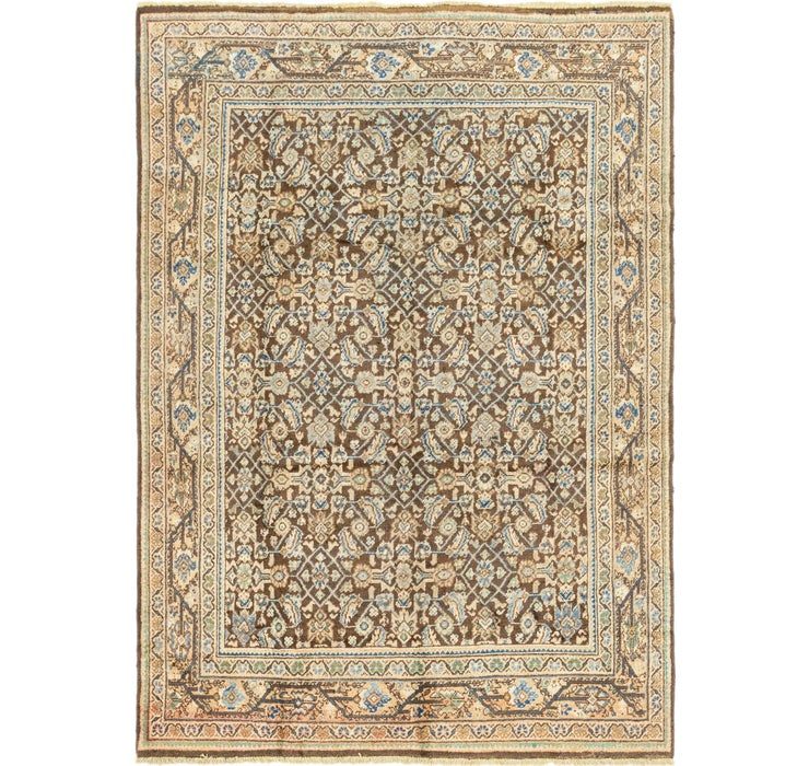 213cm x 297cm Hossainabad Persian Rug