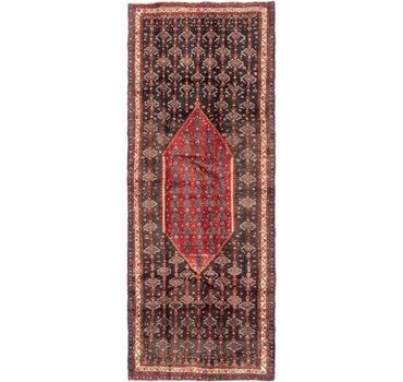 4' 6 x 11' 6 Zanjan Persian Runner Rug main image