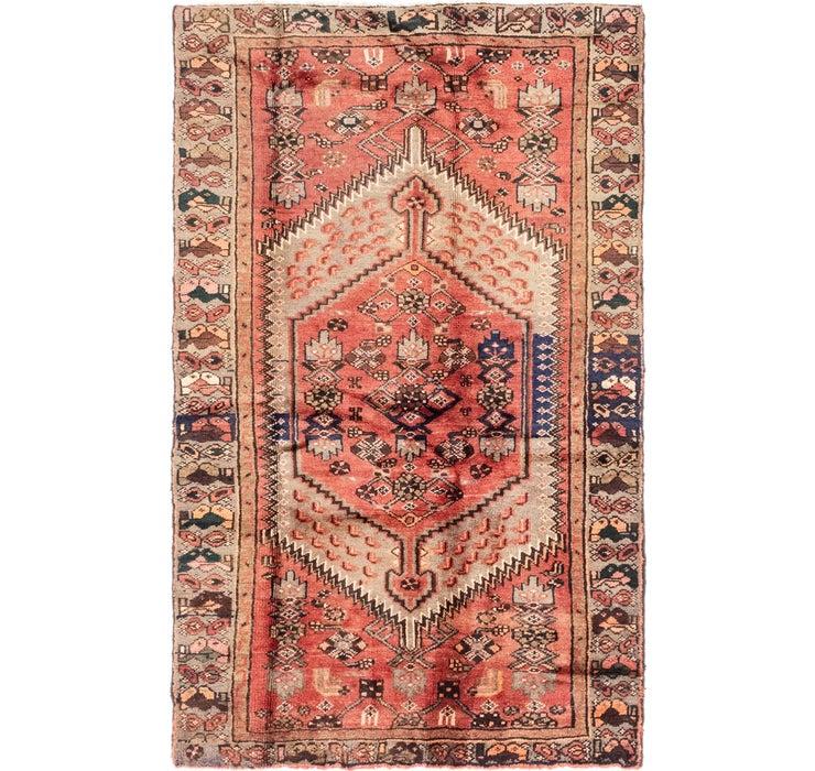 4' x 6' 5 Hamedan Persian Rug