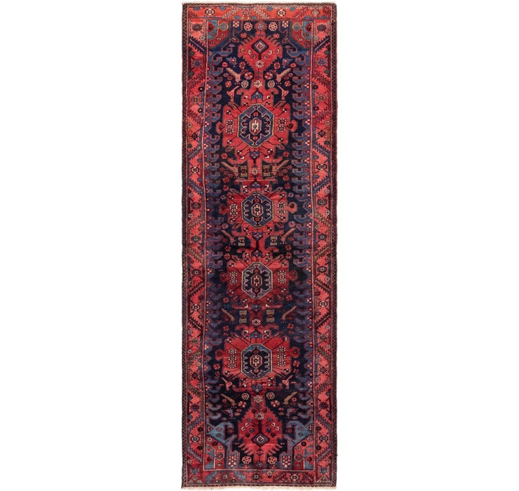 3' 6 x 12' 4 Roodbar Persian Runner ...