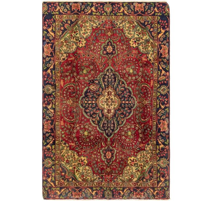 6' x 9' 3 Tabriz Persian Rug