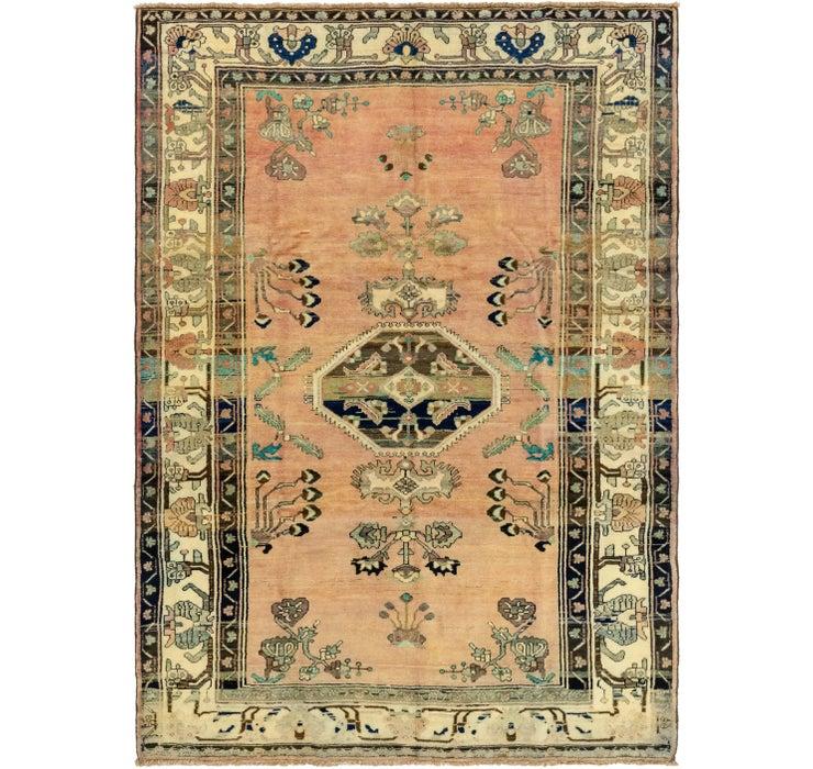 7' 2 x 9' 10 Hamedan Persian Rug