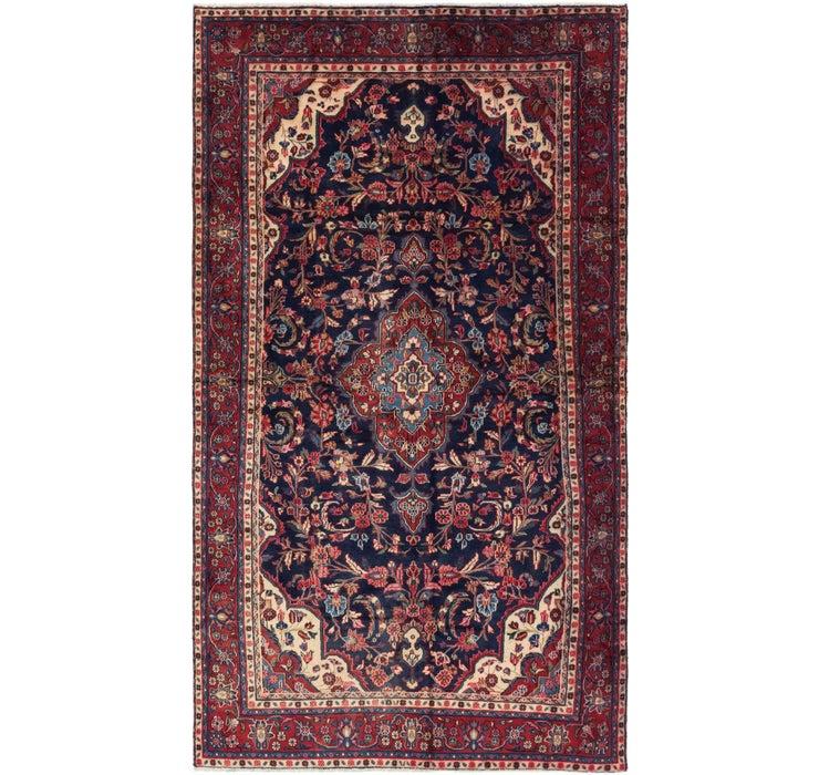 6' x 11' 7 Hamedan Persian Rug