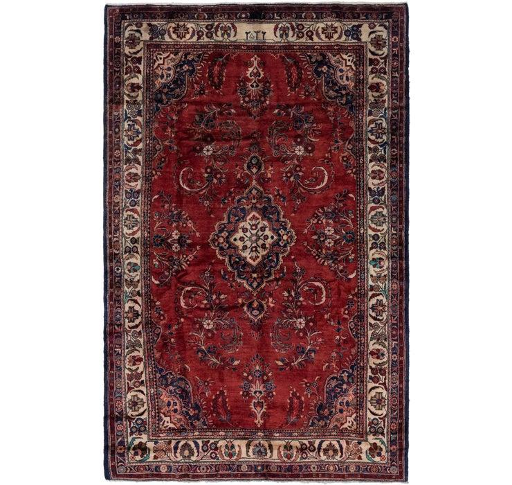 213cm x 335cm Hamedan Persian Rug