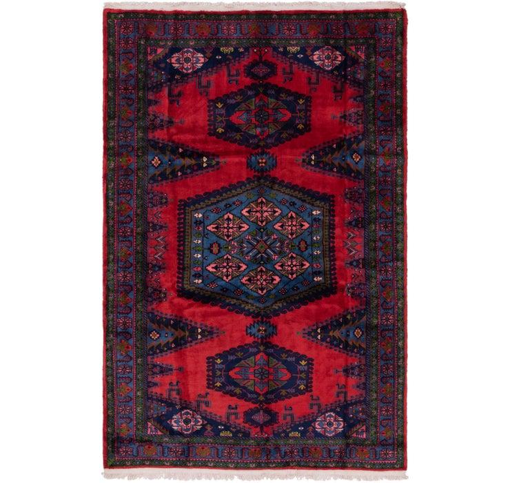 6' 8 x 10' 2 Viss Persian Rug