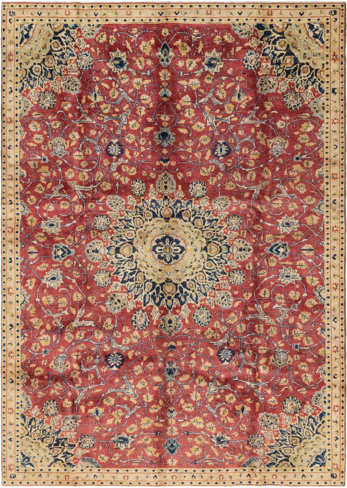 7' x 10' 4 Mashad Persian Rug main image