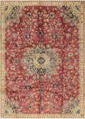 7' x 10' 4 Mashad Persian Rug thumbnail