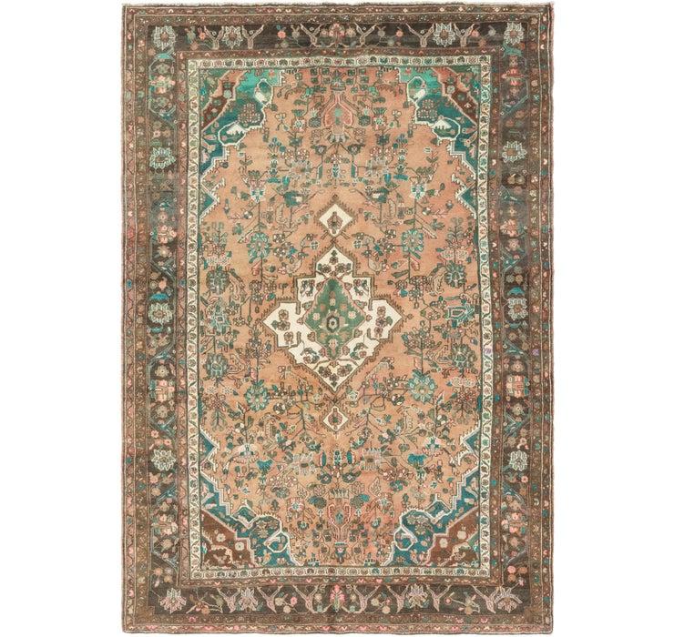 195cm x 297cm Hamedan Persian Rug