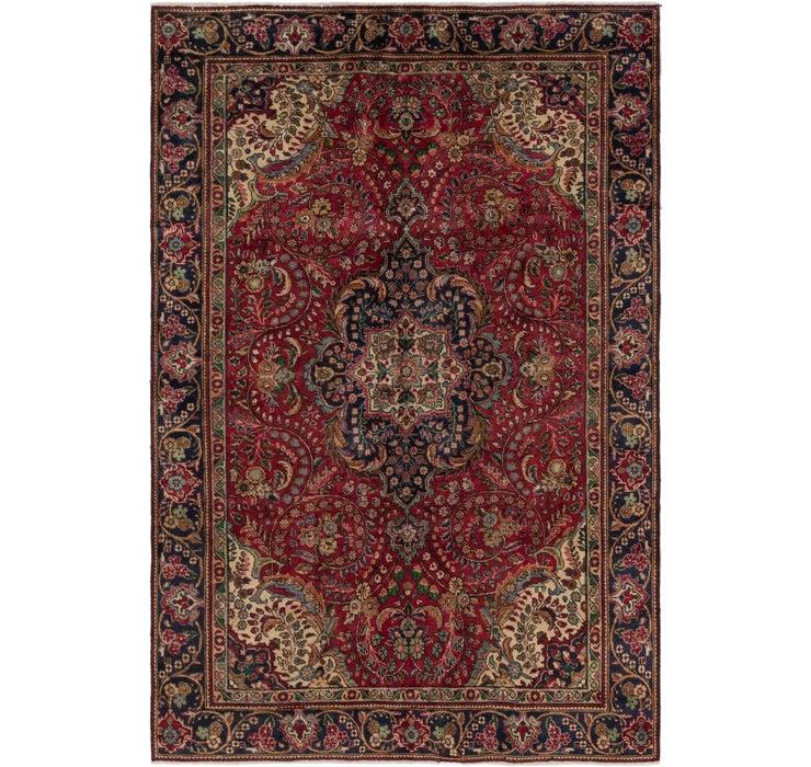 6' 4 x 9' 7 Tabriz Persian Rug