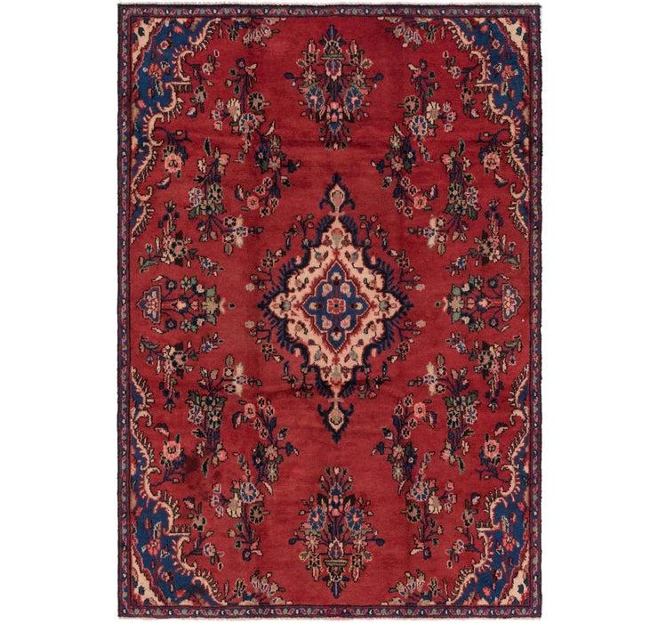 5' 5 x 8' Hamedan Persian Rug