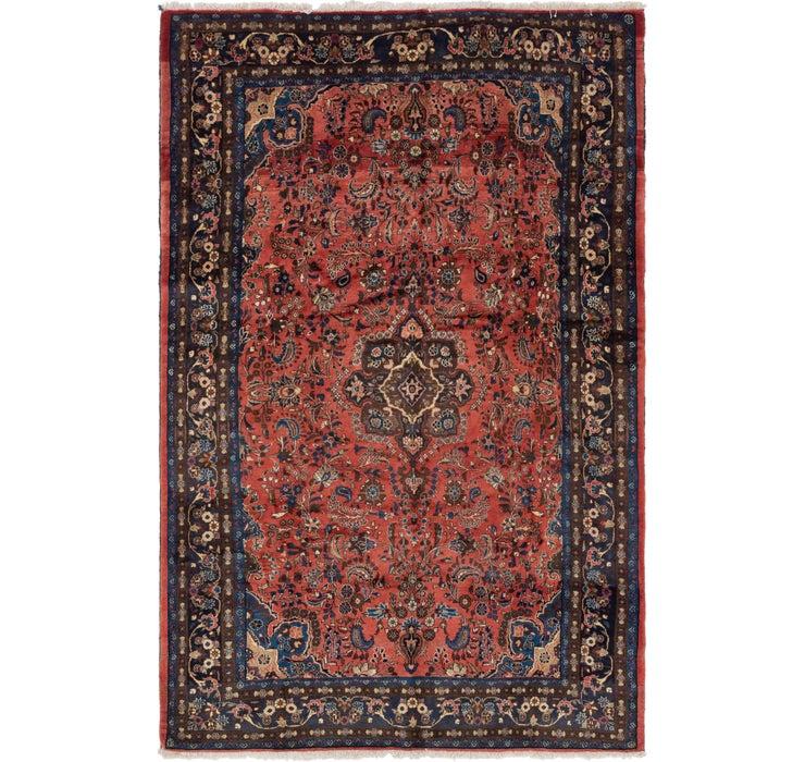 6' 6 x 10' 7 Shahrbaft Persian Rug