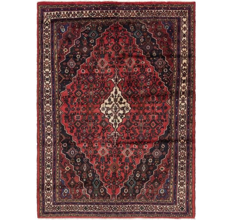 208cm x 292cm Hamedan Persian Rug