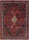 6' 10 x 9' 7 Hamedan Persian Rug thumbnail