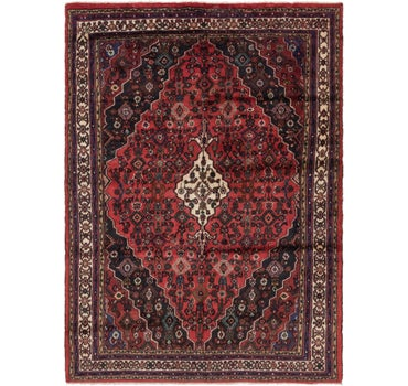 6' 10 x 9' 7 Hamedan Persian Rug main image