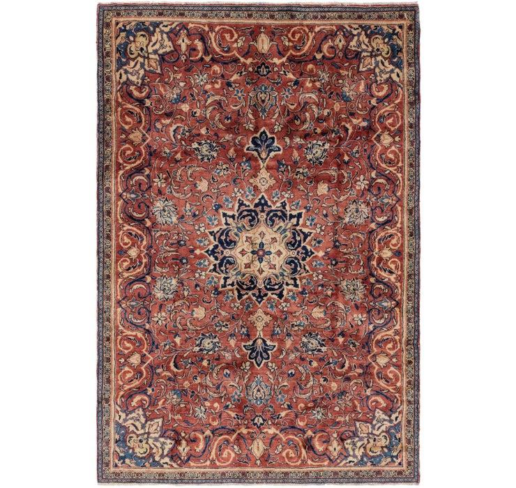 198cm x 295cm Farahan Persian Rug