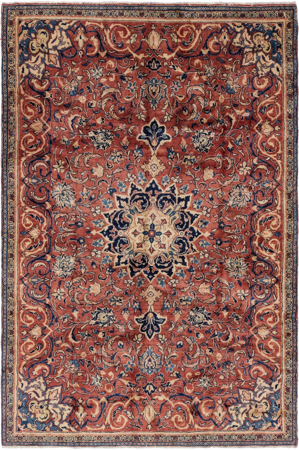 6' 6 x 9' 8 Farahan Persian Rug main image