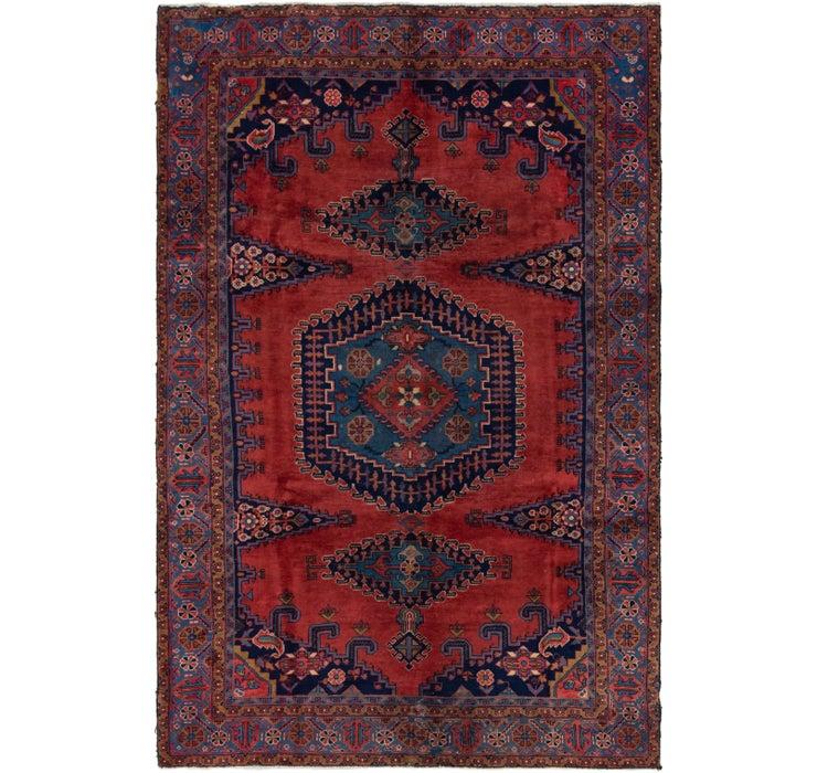6' 4 x 9' 8 Viss Persian Rug