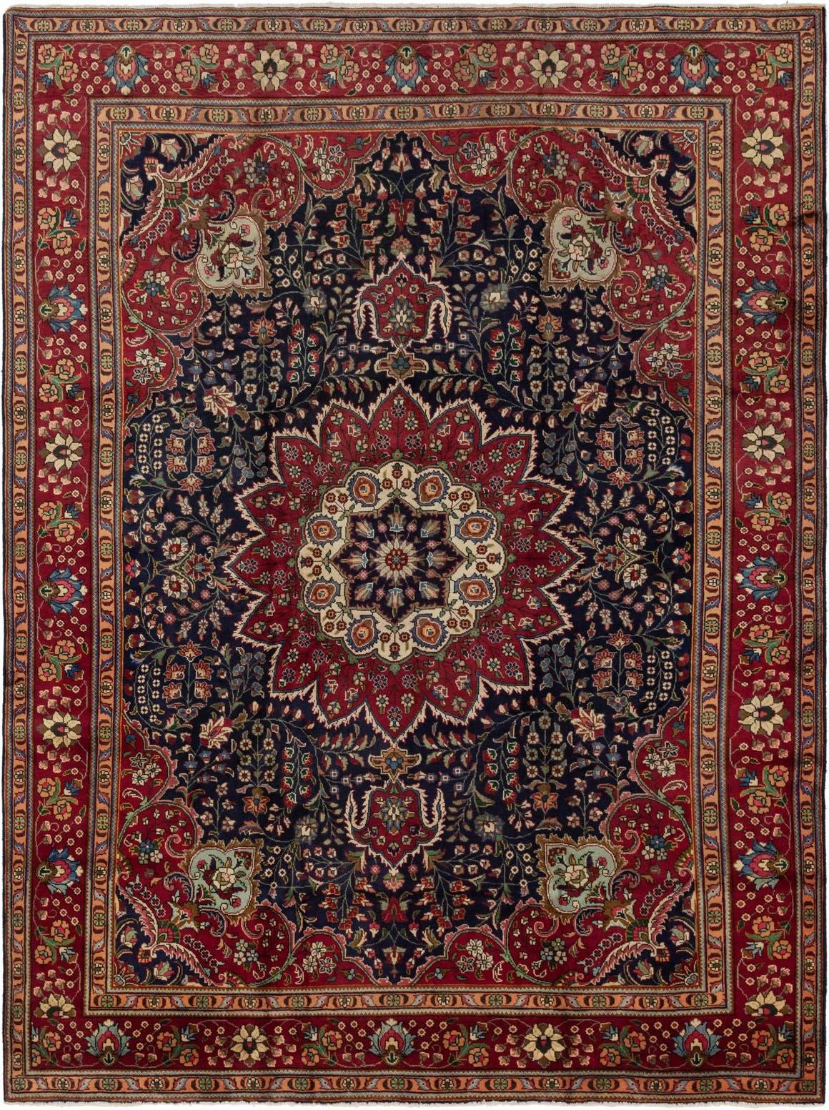 9' 6 x 13' Tabriz Persian Rug main image