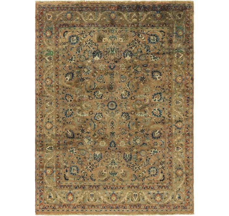 9' 10 x 13' 4 Mashad Persian Rug