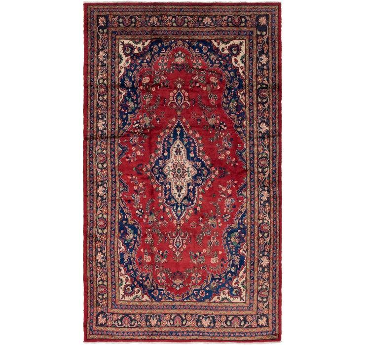 7' 1 x 12' 9 Hamedan Persian Rug