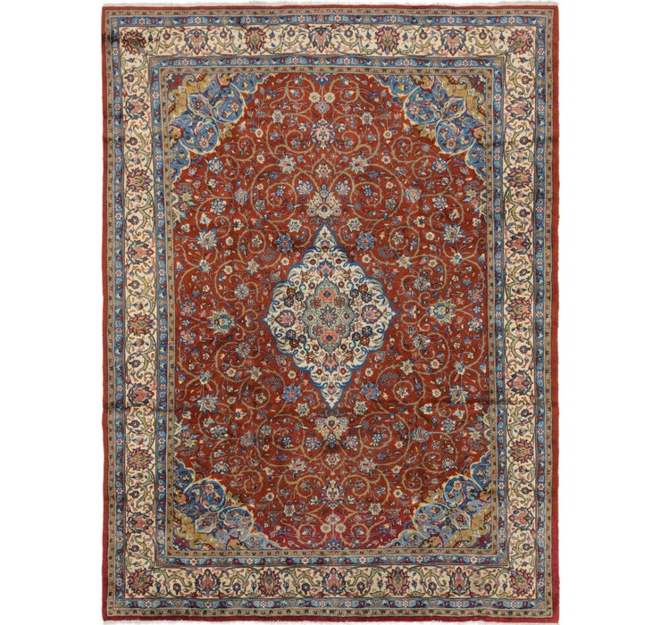 8' 3 x 11' Sarough Persian Rug