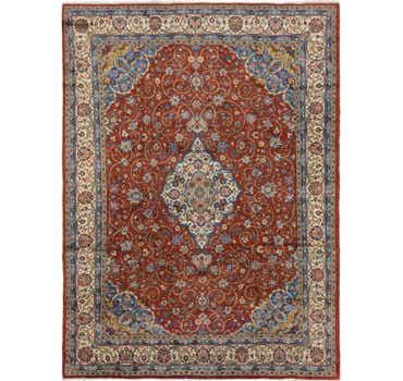 8' 3 x 11' Sarough Persian Rug