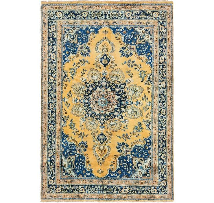 6' 5 x 9' 9 Golpayegan Persian Rug