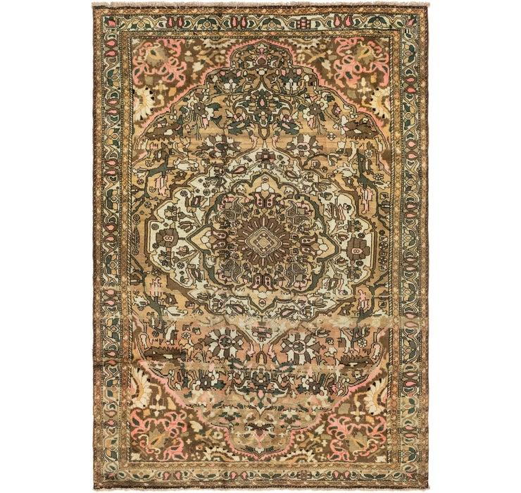 218cm x 315cm Bakhtiar Persian Rug