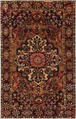6' 7 x 10' 4 Bakhtiar Persian Rug thumbnail