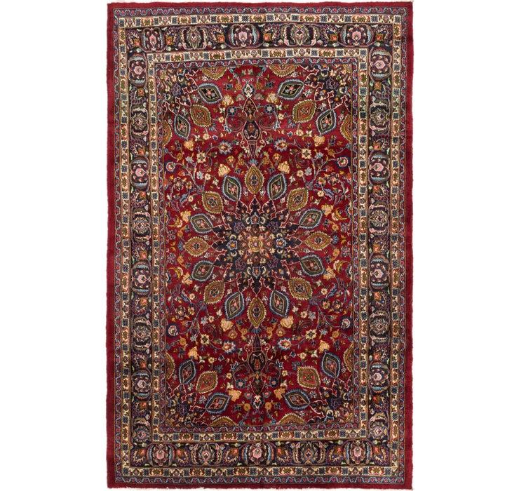 6' 8 x 10' 8 Mashad Persian Rug