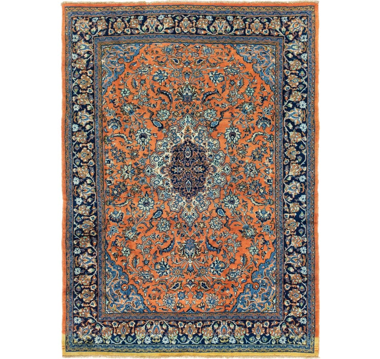 235cm x 328cm Golpayegan Persian Rug