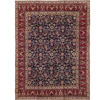 9' 9 x 12' 8 Tabriz Persian Rug main image